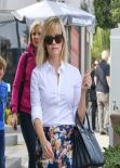 Reese Witherspoon Street Style - Out in Los Angeles