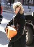 Reese Witherspoon Street Style - Out in New York City - February 2014