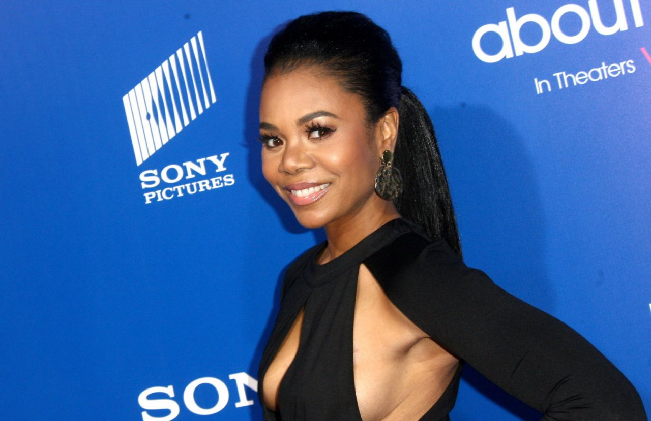 "Regina Hall - ""About Last Night"" Premire in Los Angeles, February 2014"