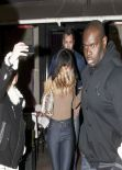 Rihanna in Paris - Leaving L