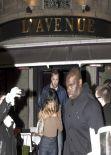 Rihanna in Paris - Leaving L