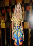 Rita Ora - Moschino Show - Milan Fashion Week, February 2014