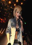 Rita Ora Performing at Philipp Plein Fashion Show in Milan - Feb. 2014