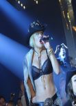 Rita Ora Performing at Philipp Plein Fashion Show in Milan - Feb. 2014