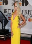 Rita Ora Wearing Prada Dress – 2014 BRIT Awards