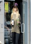 Rosie Huntington-Whiteley Street Style - LA, February 2014
