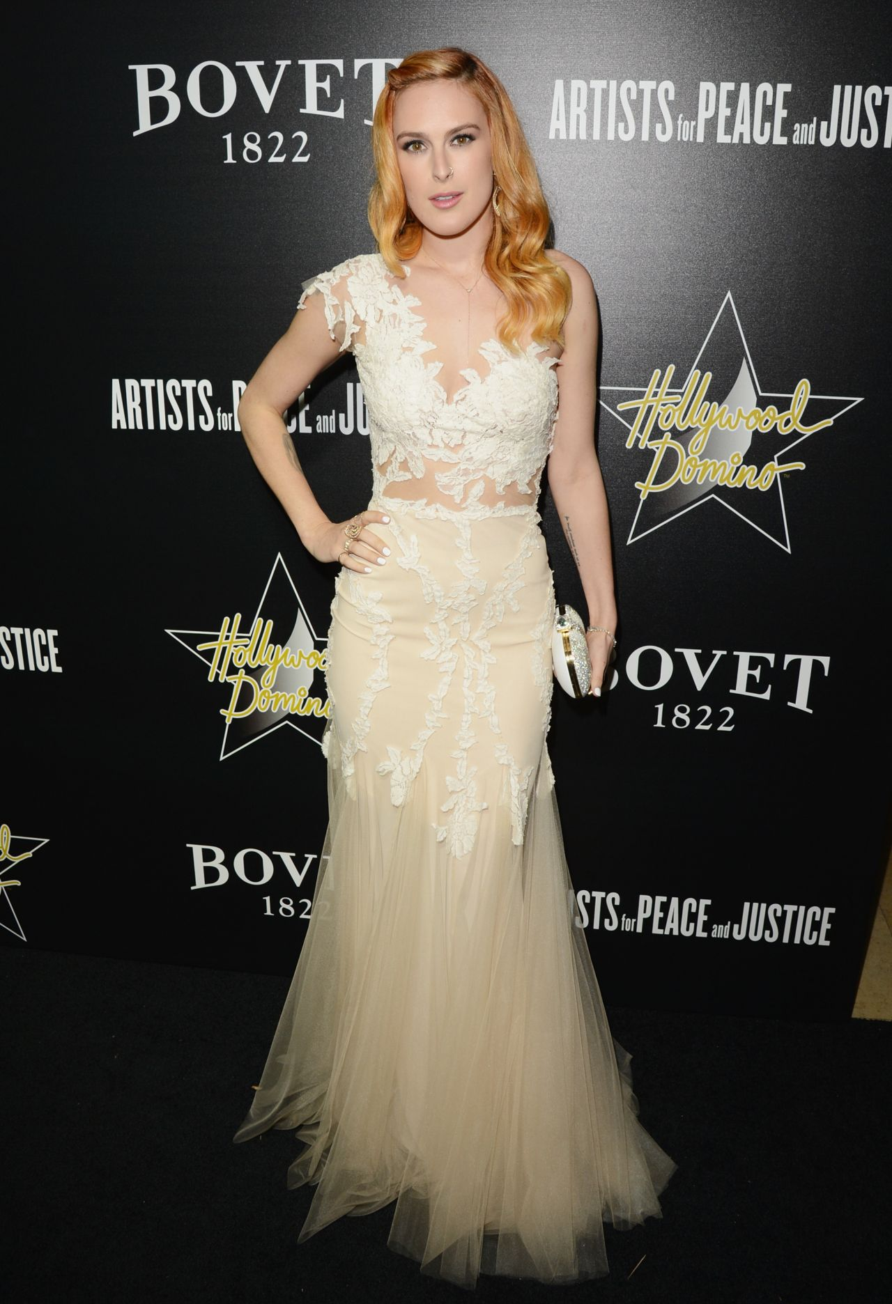Rumer Willis - 2014 Hollywood Domino and Bovet 1822 Gala
