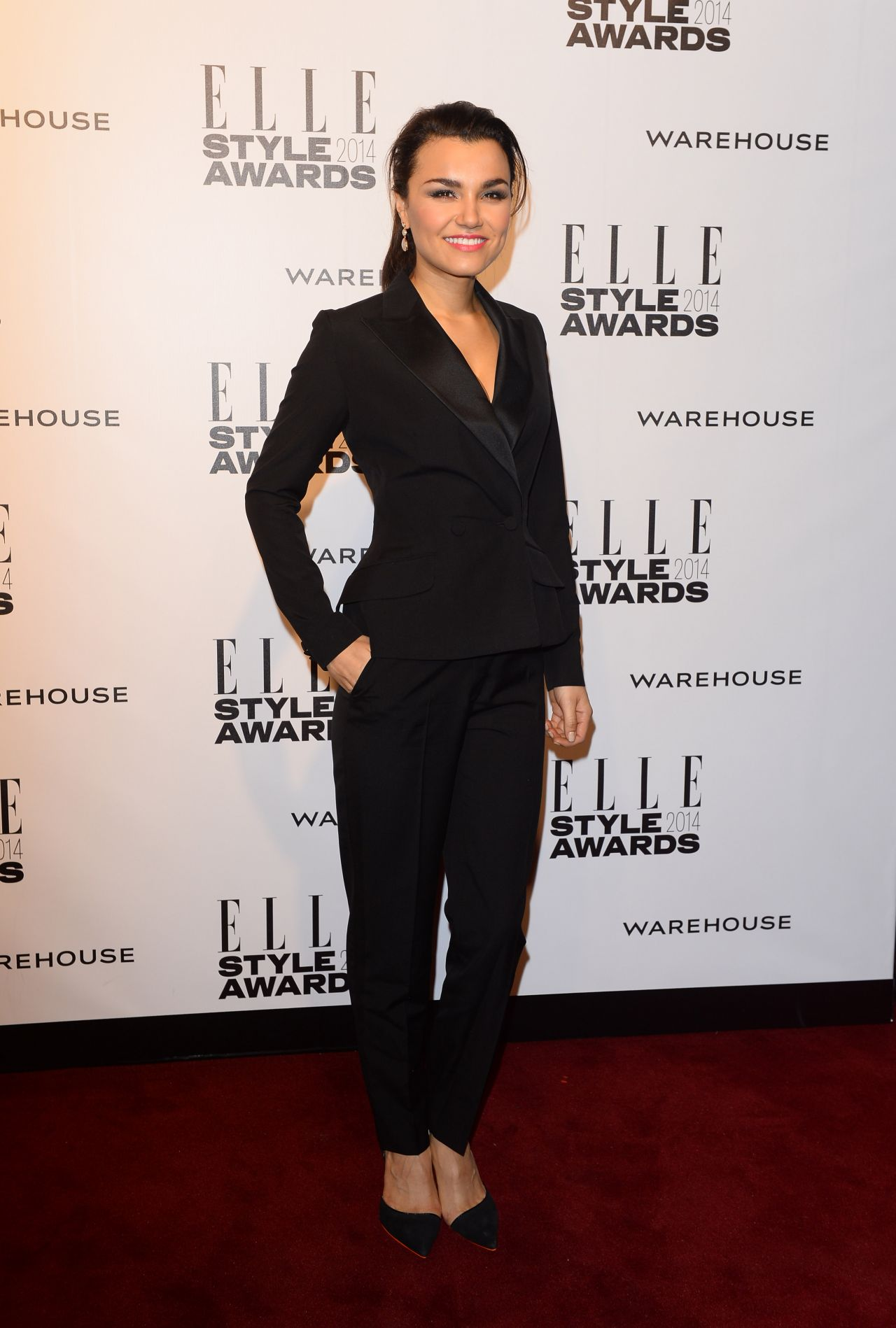 Samantha Barks - ELLE Style Awards 2014 at One Embankment in London