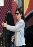 Sandra Bullock Street Style - Out in Los Angeles, February 2014