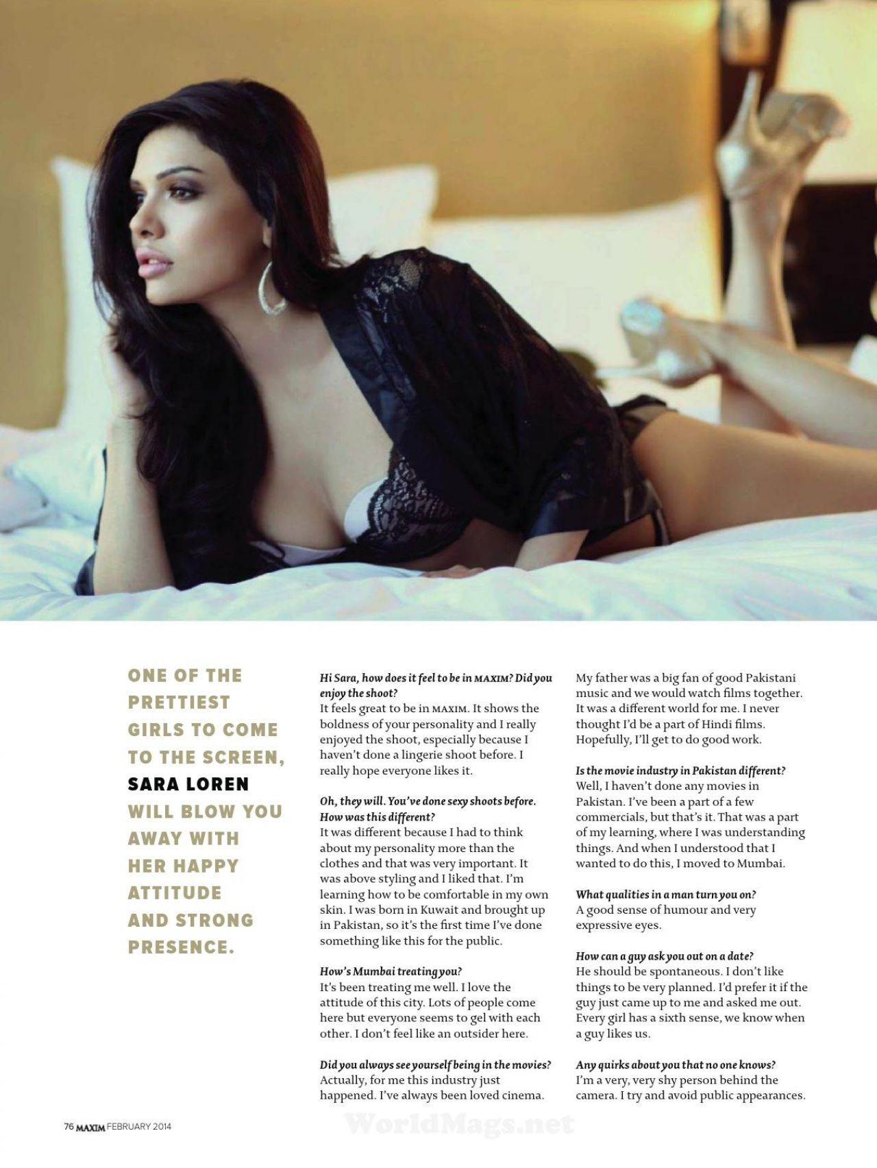 Opinion Sara loren nakd pics exact answer