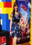Sara Rue on Red Carpet - THE LEGO MOVIE Premiere in Los Angeles
