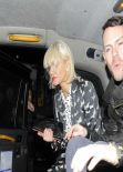 Sarah Harding Night out Style - Dartmouth House in London - Feb. 2014