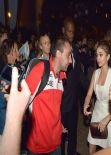 Sarah Hyland at Groped By Fan At Party, Feb. 2014