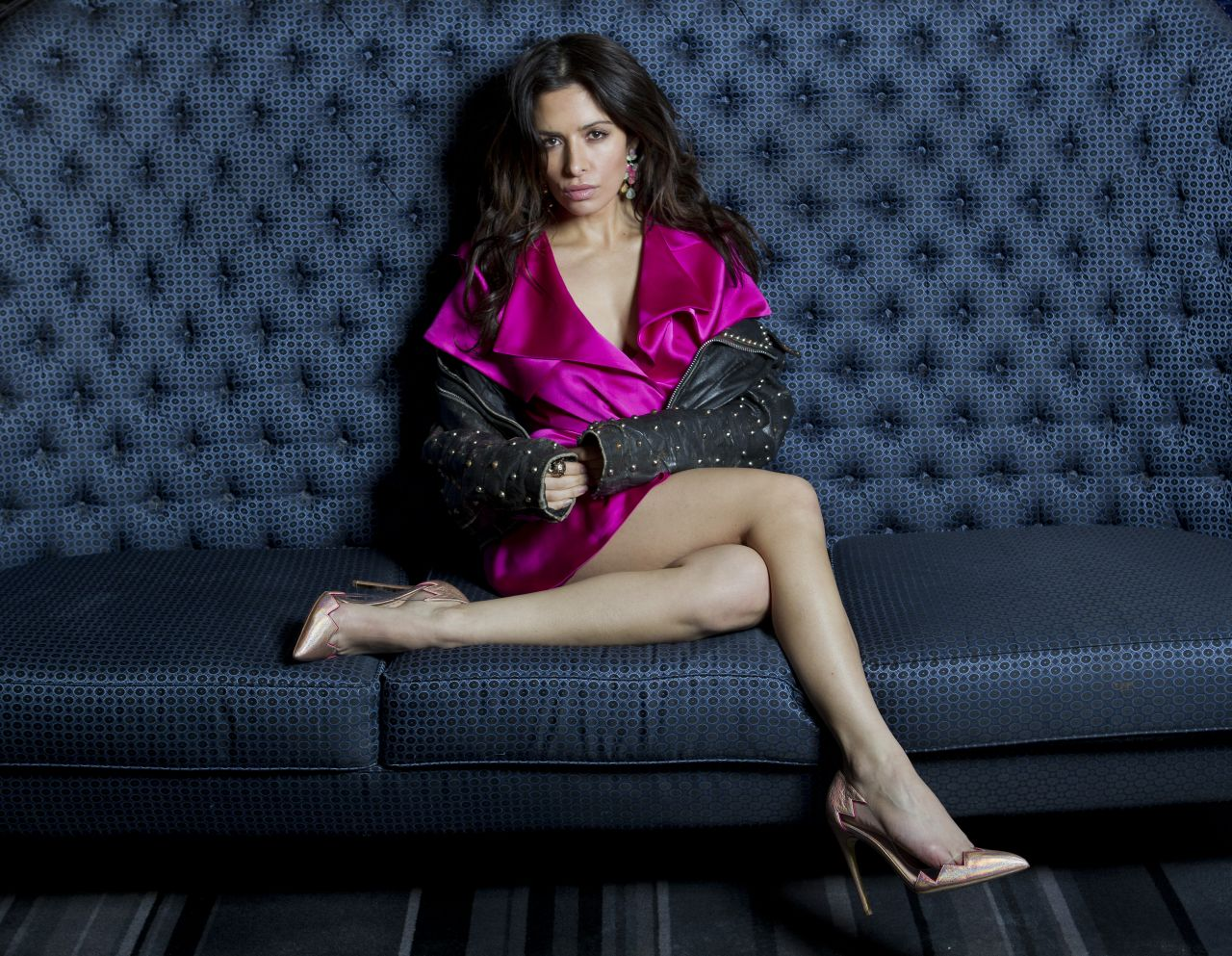 Sarah Shahi - NEW YORK POST - February 2014