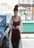 Selena Gomez in Tights  - Out in Los Angeles - February 2014