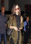 Selena Gomez - Leaving LAX Airport in Los Angeles - February 2014