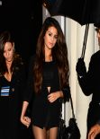 Selena Gomez Night Out Style - Leggy, Out in London, February 2014
