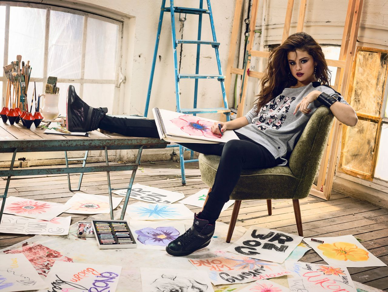 Selena Gomez Photoshoot Adidas NEO SpringSummer 2014