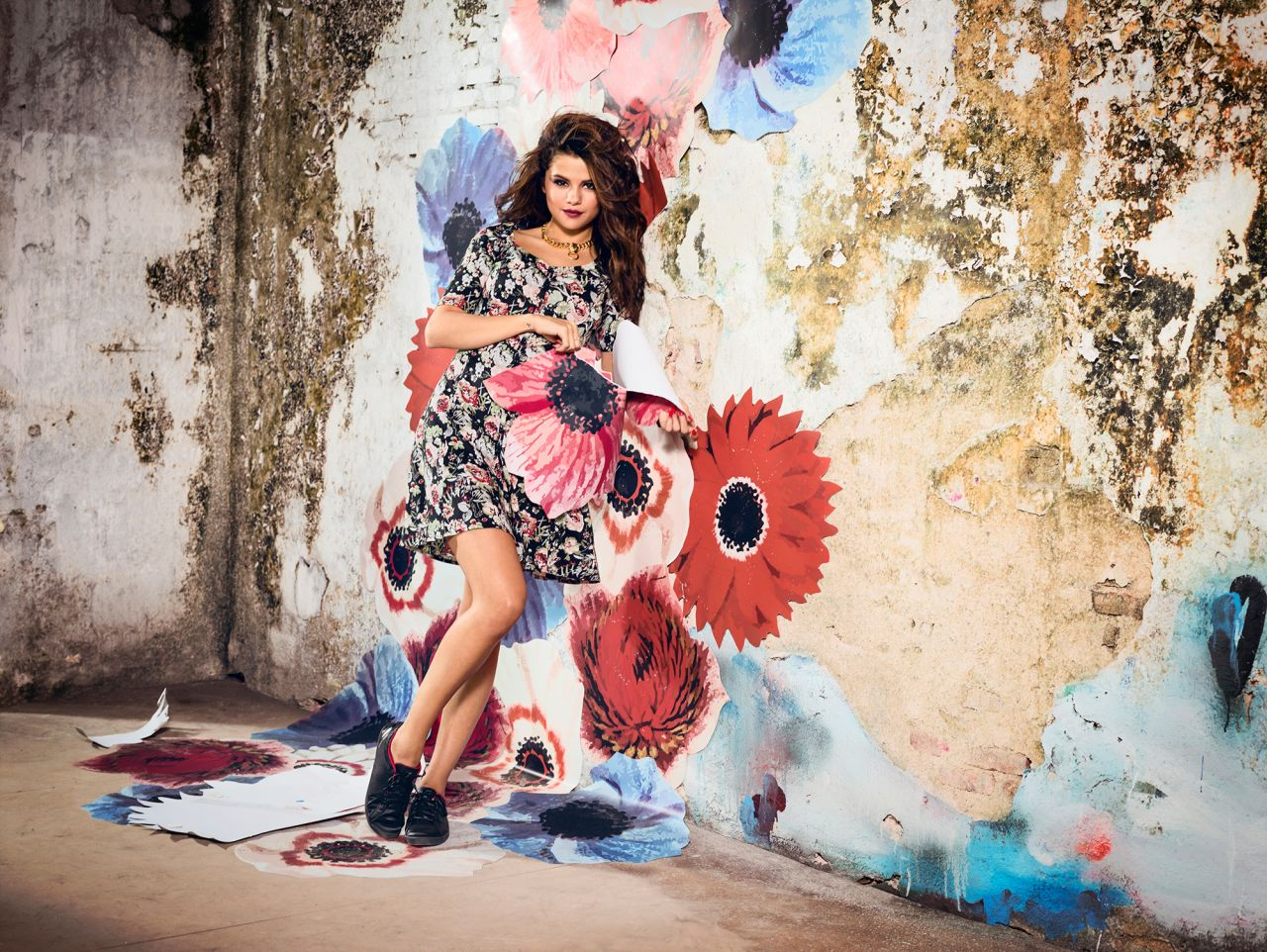 Selena gomez photoshoot adidas neo spring summer 2014 collection - Photo selena gomez 2014 ...