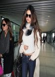 Selena Gomez Street Style - At Heathrow Airport in London, February 2014
