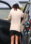 Selena Gomez Street Style - Out For Lunch At Hugo