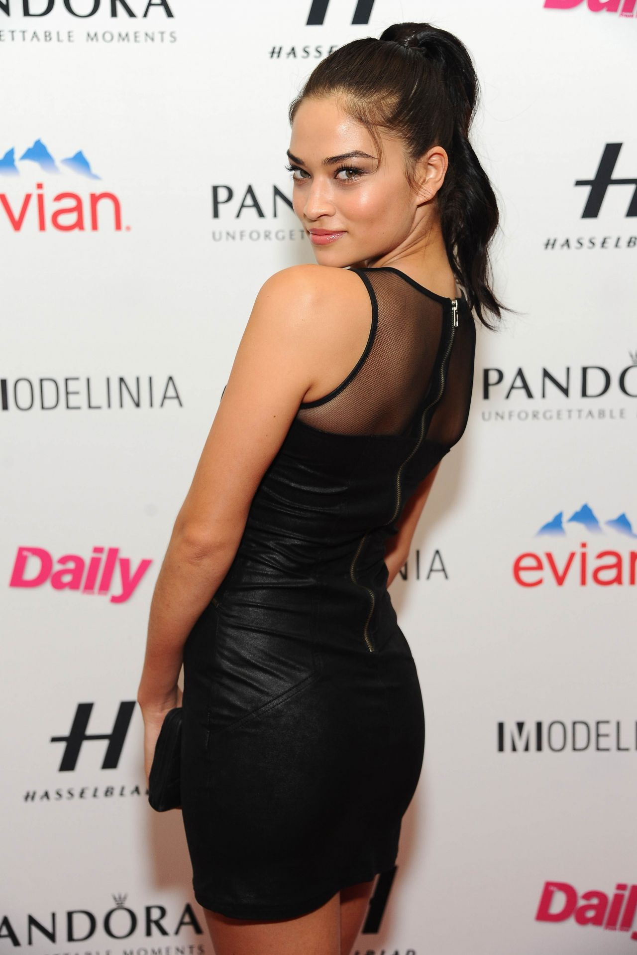 Shanina Shaik in Mini Dress - Models Issue Party Presented by Modelinia at Harlow, New York