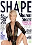 Sharon Stone - Shape Magazine (USA) - March 2014 Issue
