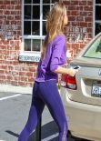 Sofia Vergara Booty in Tights - Out in Los Angeles - Feb. 2014