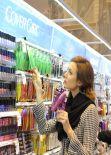 Stacy Keibler - Duane Reade Drug Store in Soho - New York City, Feb. 2014