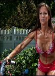 Stephanie McMahon Sexy in Bikini Working Out - Chris Zimmerman Photoshoot (2012)