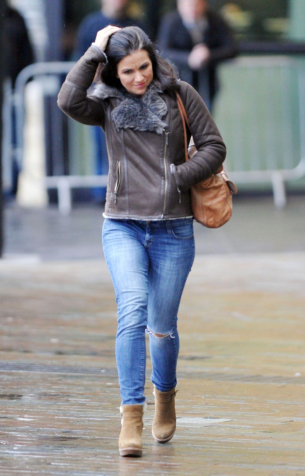 Susanna Reid In Tight Jeans - Bbc Media Studios Manchester -5675