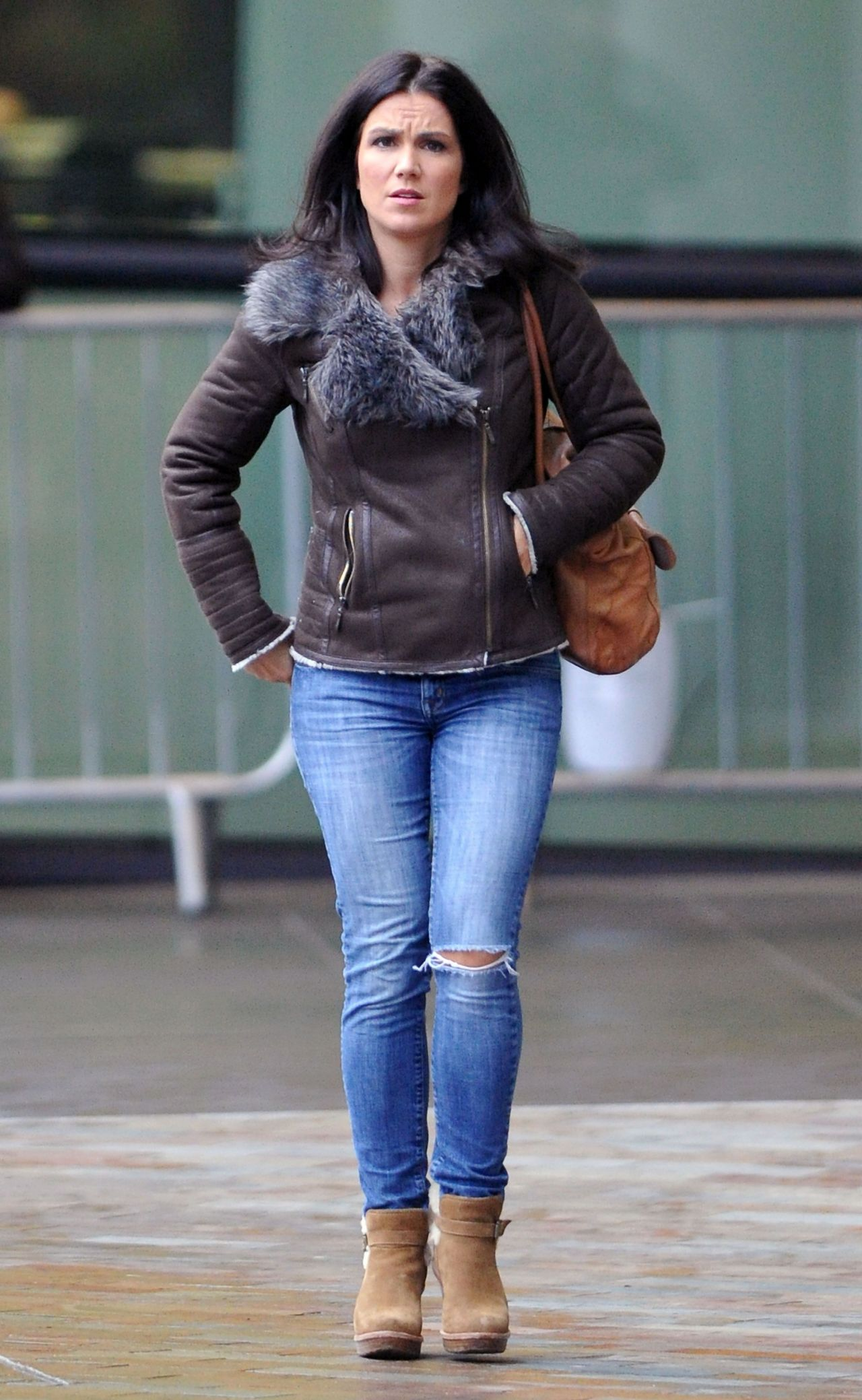 Susanna Reid In Tight Jeans - Bbc Media Studios Manchester -8101