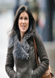 Susanna Reid in Tight Jeans - BBC Media Studios Manchester, February 2014