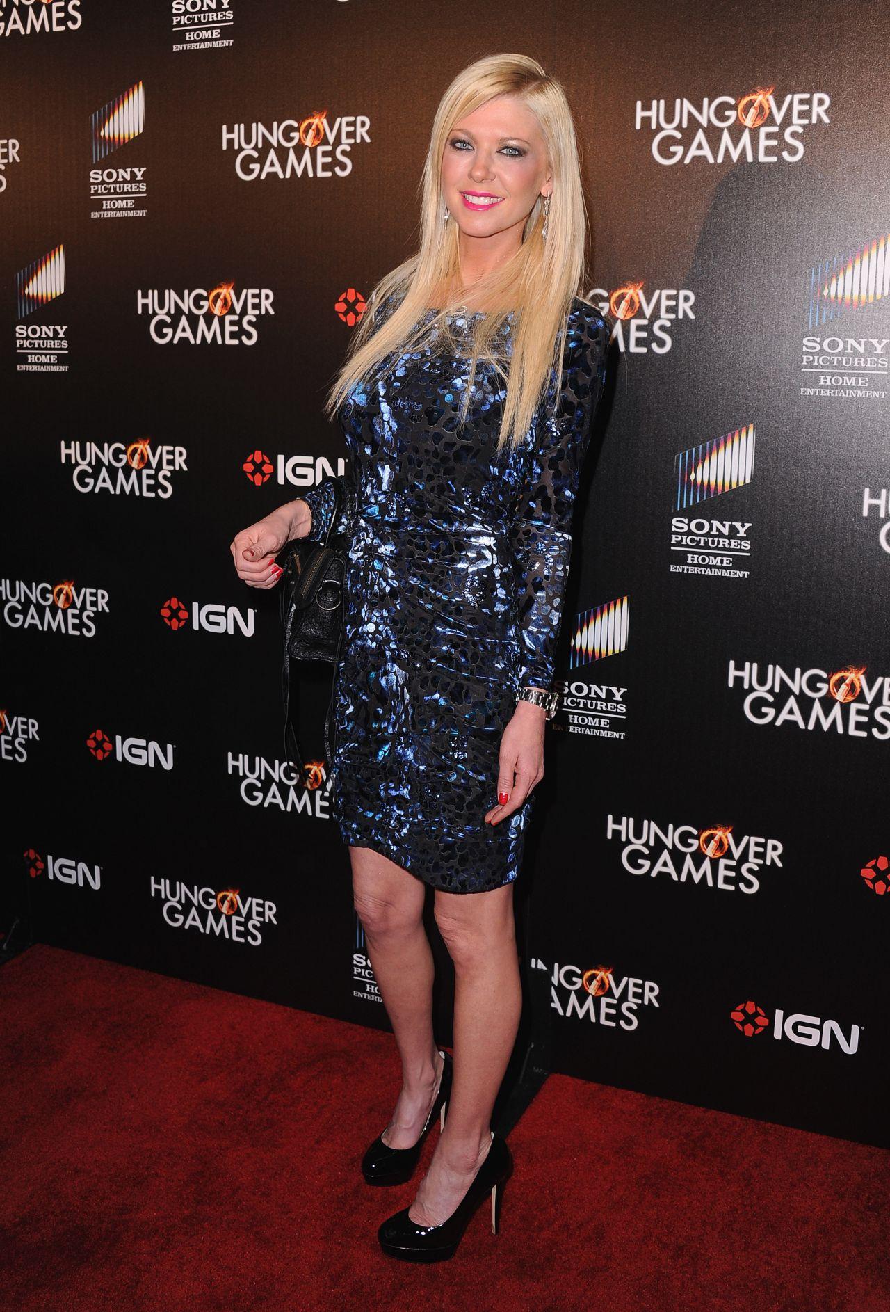 Tara Reid Red Carpet Photos Hungover Games Premiere Feb
