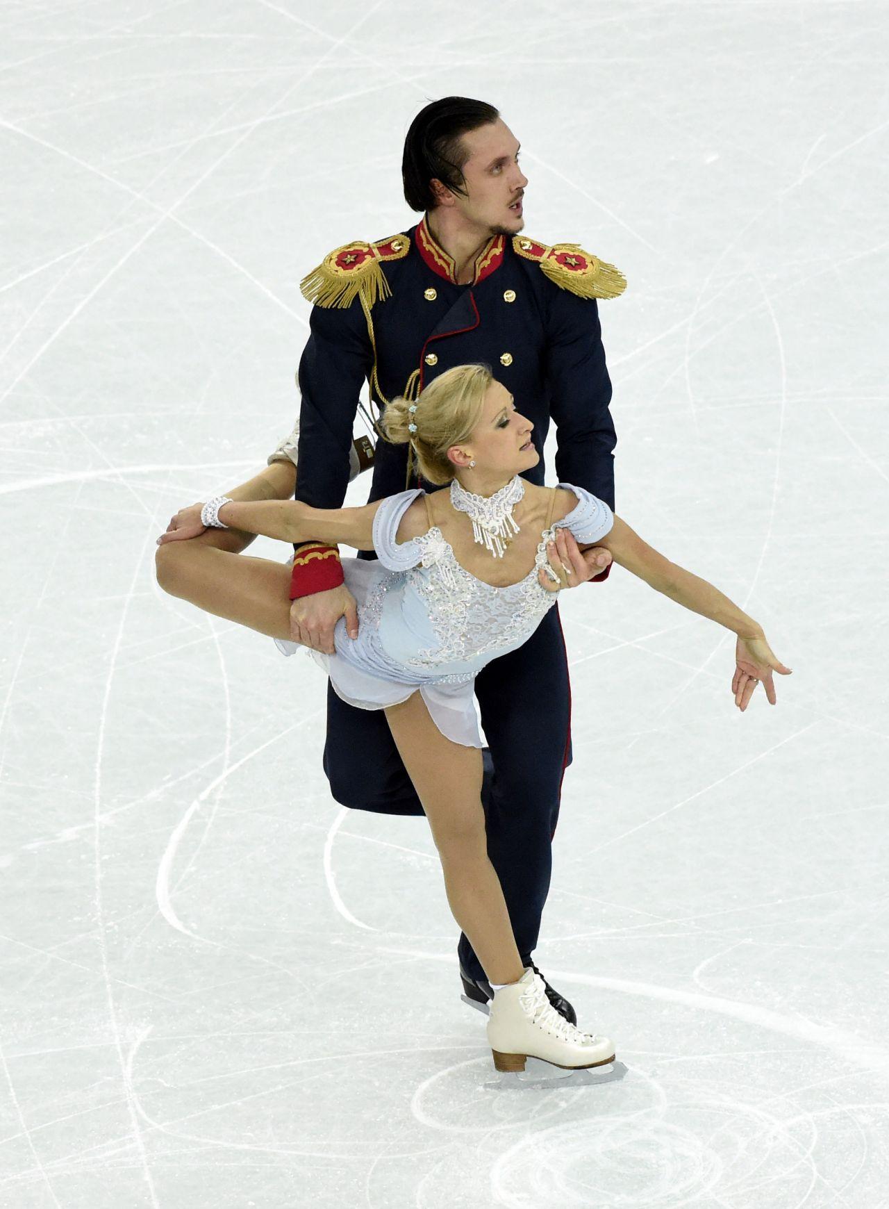 Tatiana Volosozhar - Sochi 2014 Winter Olympics