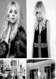 Taylor Momsen - Grazia Magazine (Mexico) - February 2014 Issue