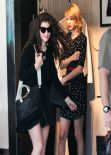 Taylor Swift & Lorde Street Style - Shopping in West Hollywood - February 2014