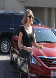 Taylor Swift Street Style - at a Dance Studio in Los Angeles, Feb. 2014