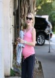 Teresa Palmer Beams on Sunshine Stroll - California, January 2014