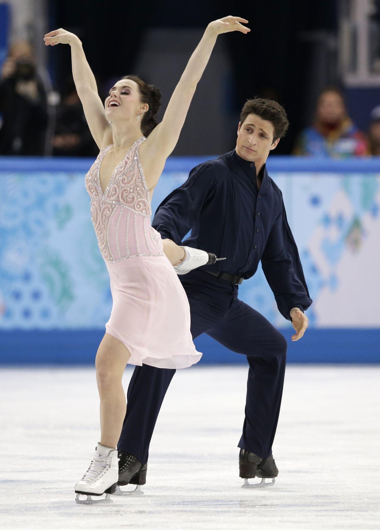 Tessa Virtue 2014 Sochi Winter Olympics Figure Skating