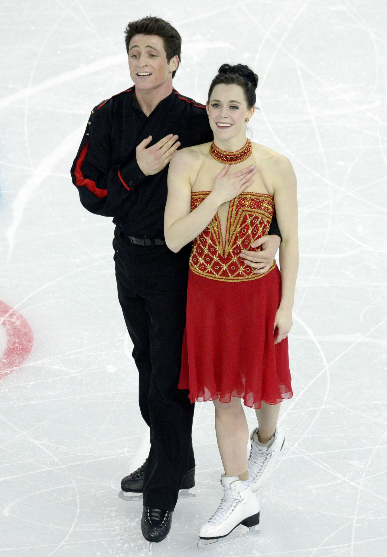 Tessa Virtue - Sochi 2014 Winter Olympics - Team Ice Dance Free Dance