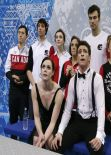 Tessa Virtue - Sochi 2014 Winter Olympics - Team Ice Dance (Short Dance)