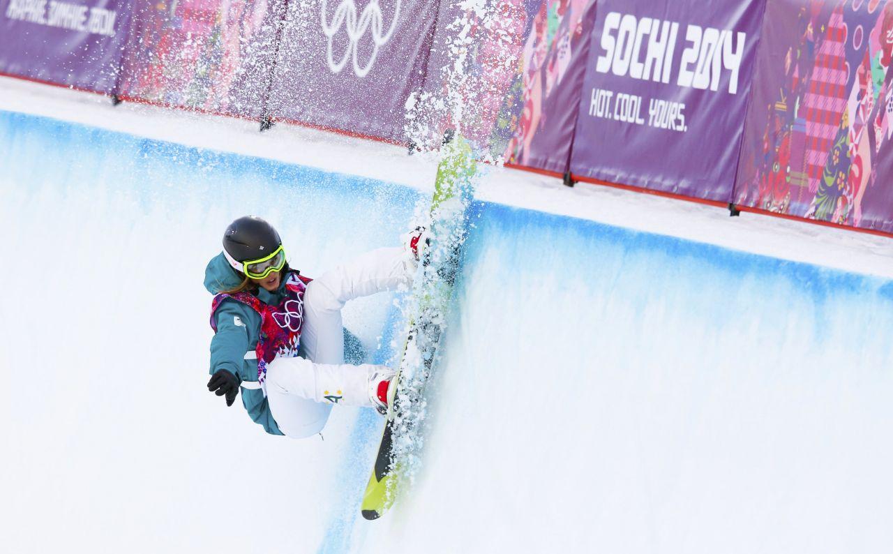 Сноуборд хафпайп олимпиада 16 фотография
