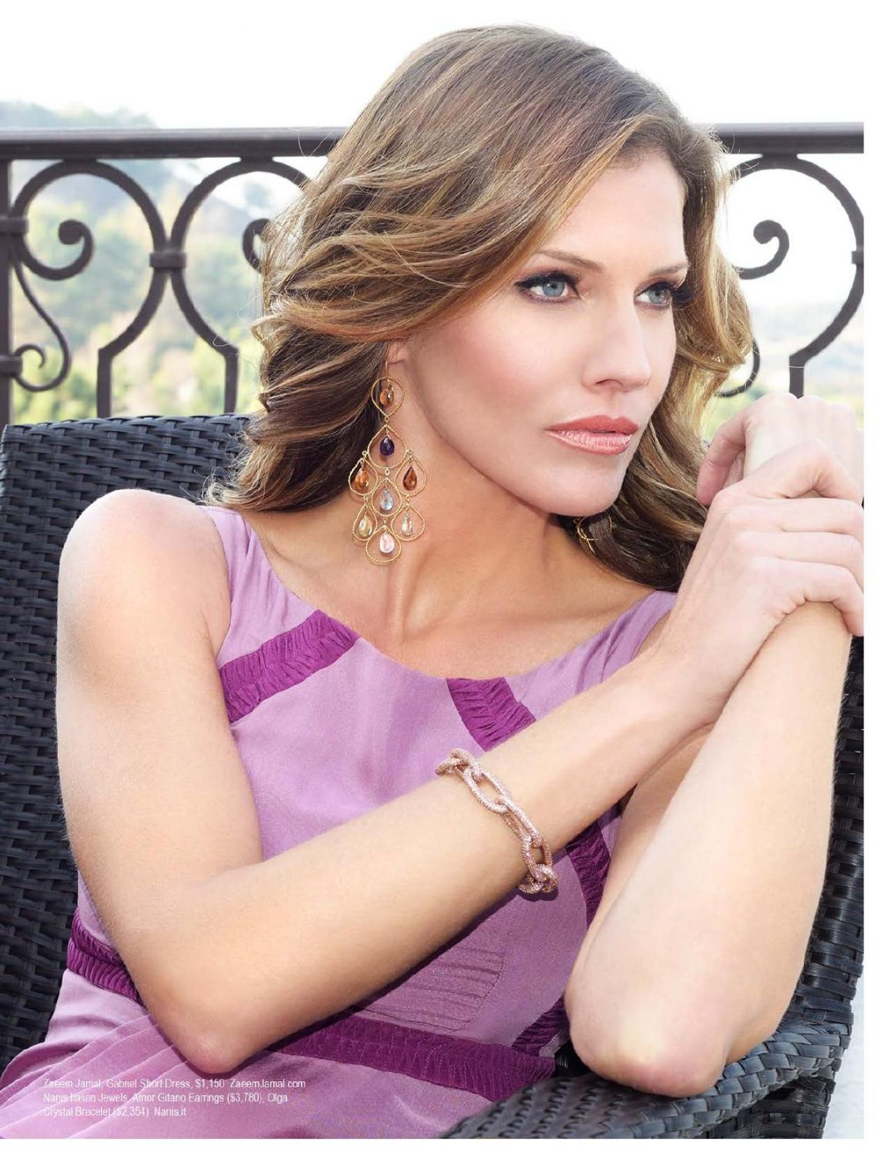 Tricia Helfer - Regard Magazine - February 2014 Issue