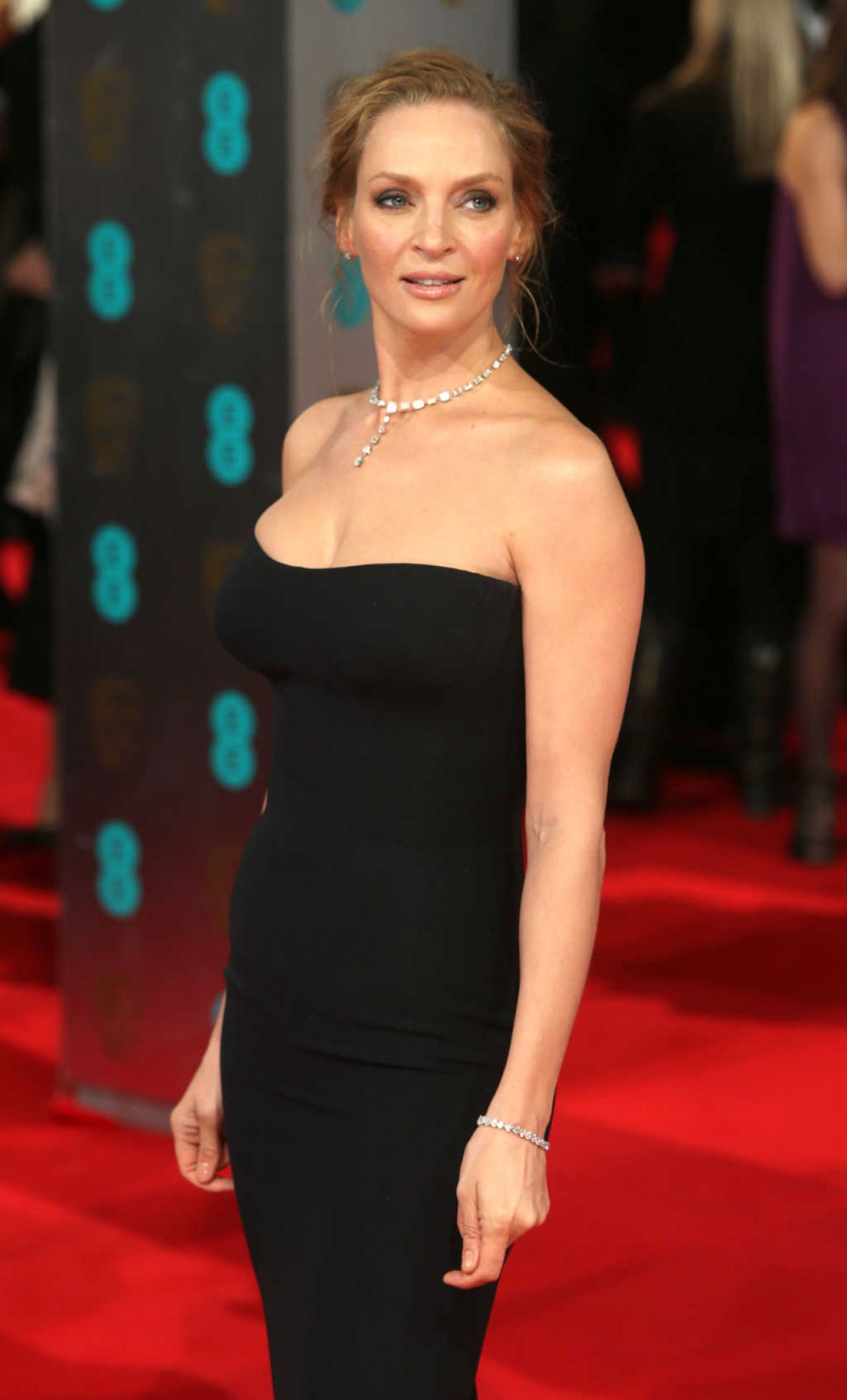Uma Thurman - 2014 BAFTA Awards in London