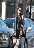 Vanessa Hudgens in Black Boots