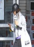 Vanessa Hudgens Leaving Bed Bath & Beyond in Studio City - February 2014