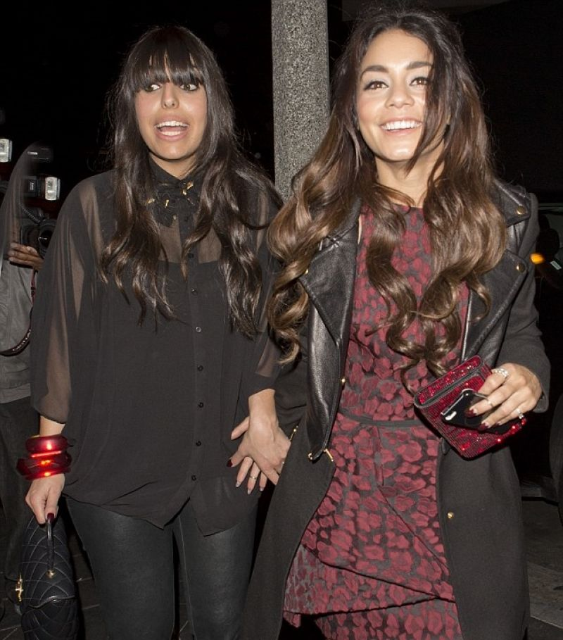 Vanessa Hudgens Night Out Style - Los Angeles, February 2014