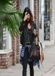Vanessa Hudgens - Real Los Angeles Street Style: Winter 2014
