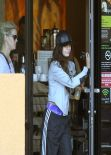 Vanessa Hudgens - Stops at Starbucks in Studio City - February 2014